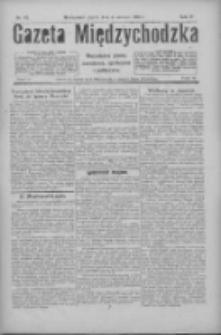 Gazeta Międzychodzka: niezależne pismo narodowe, społeczne i polityczne 1926.06.04 R.4 Nr62