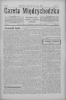Gazeta Międzychodzka: niezależne pismo narodowe, społeczne i polityczne 1926.06.16 R.4 Nr67