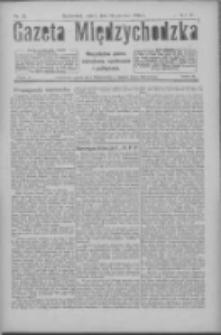 Gazeta Międzychodzka: niezależne pismo narodowe, społeczne i polityczne 1926.06.25 R.4 Nr71