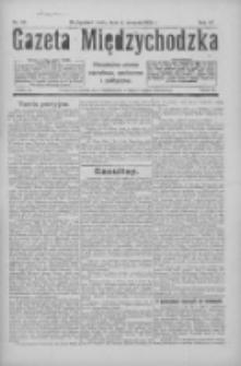 Gazeta Międzychodzka: niezależne pismo narodowe, społeczne i polityczne 1926.08.04 R.4 Nr88