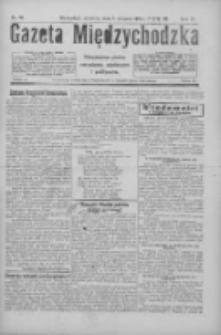 Gazeta Międzychodzka: niezależne pismo narodowe, społeczne i polityczne 1926.08.08 R.4 Nr90