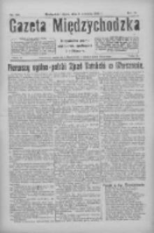 Gazeta Międzychodzka: niezależne pismo narodowe, społeczne i polityczne 1926.09.03 R.4 Nr101