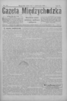Gazeta Międzychodzka: niezależne pismo narodowe, społeczne i polityczne 1926.10.01 R.4 Nr113