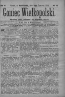 Goniec Wielkopolski: najtańsze pismo codzienne dla wszystkich stanów 1879.06.23 R.3 Nr141