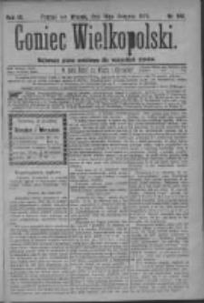 Goniec Wielkopolski: najtańsze pismo codzienne dla wszystkich stanów 1879.08.19 R.3 Nr188