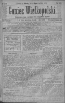 Goniec Wielkopolski: najtańsze pismo codzienne dla wszystkich stanów 1879.12.20 R.3 Nr291
