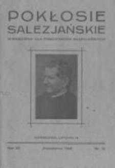 Pokłosie Salezjańskie. 1928 R.12 nr10