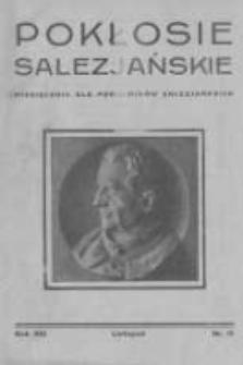 Pokłosie Salezjańskie. 1929 R.13 nr11