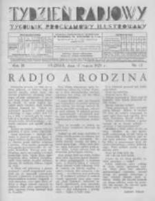 Tydzień Radjowy. 1929 R.3 nr12