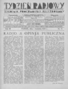 Tydzień Radjowy. 1929 R.3 nr15