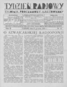 Tydzień Radjowy. 1929 R.3 nr51