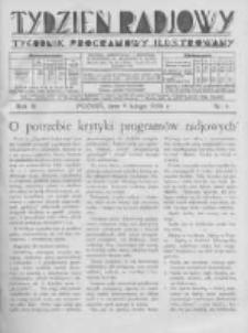 Tydzień Radjowy. 1930 R.4 nr6