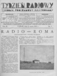 Tydzień Radjowy. 1930 R.4 nr9