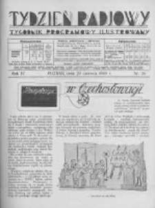 Tydzień Radjowy. 1930 R.4 nr26