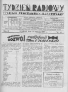 Tydzień Radjowy. 1930 R.4 nr35