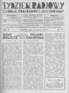 Tydzień Radjowy. 1930 R.4 nr37
