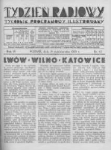 Tydzień Radjowy. 1930 R.4 nr42
