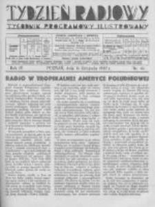 Tydzień Radjowy. 1930 R.4 nr46