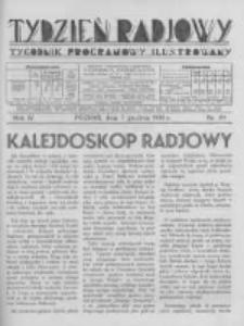 Tydzień Radjowy. 1930 R.4 nr49