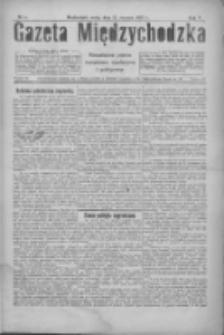 Gazeta Międzychodzka: niezależne pismo narodowe, społeczne i polityczne 1927.01.12 R.5 Nr5