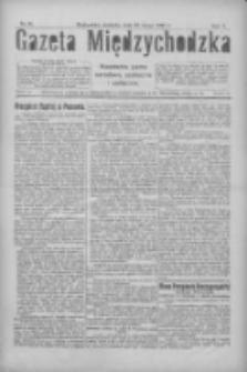 Gazeta Międzychodzka: niezależne pismo narodowe, społeczne i polityczne 1927.02.20 R.5 Nr21