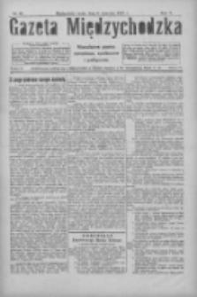 Gazeta Międzychodzka: niezależne pismo narodowe, społeczne i polityczne 1927.04.06 R.5 Nr40