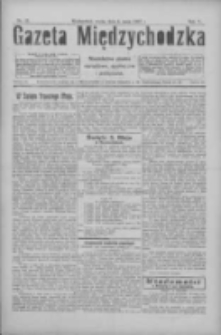Gazeta Międzychodzka: niezależne pismo narodowe, społeczne i polityczne 1927.05.04 R.5 Nr51