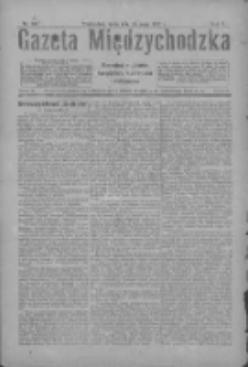 Gazeta Międzychodzka: niezależne pismo narodowe, społeczne i polityczne 1927.05.25 R.5 Nr60