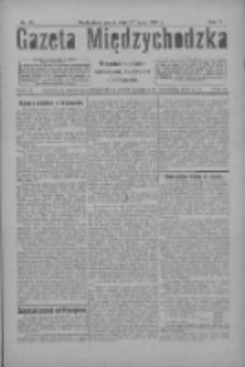 Gazeta Międzychodzka: niezależne pismo narodowe, społeczne i polityczne 1927.05.27 R.5 Nr61