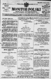 Monitor Polski. Dziennik Urzędowy Rzeczypospolitej Polskiej. 1929.11.06 R.12 nr256