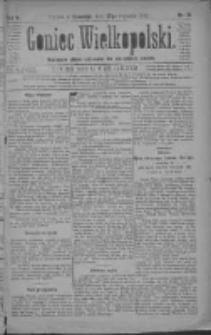 Goniec Wielkopolski: najtańsze pismo codzienne dla wszystkich stanów 1881.01.27 R.5 Nr21