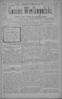 Goniec Wielkopolski: najtańsze pismo codzienne dla wszystkich stanów 1881.01.29 R.5 Nr23