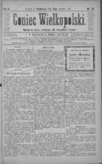 Goniec Wielkopolski: najtańsze pismo codzienne dla wszystkich stanów 1881.02.13 R.5 Nr35