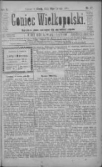 Goniec Wielkopolski: najtańsze pismo codzienne dla wszystkich stanów 1881.02.16 R.5 Nr37