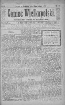 Goniec Wielkopolski: najtańsze pismo codzienne dla wszystkich stanów 1881.02.20 R.5 Nr41