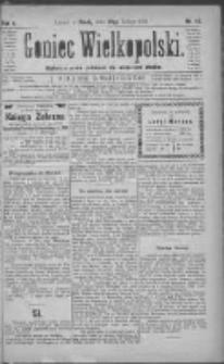 Goniec Wielkopolski: najtańsze pismo codzienne dla wszystkich stanów 1881.02.23 R.5 Nr43
