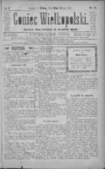 Goniec Wielkopolski: najtańsze pismo codzienne dla wszystkich stanów 1881.03.16 R.5 Nr61