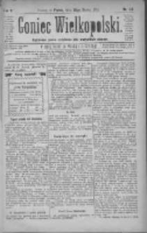 Goniec Wielkopolski: najtańsze pismo codzienne dla wszystkich stanów 1881.03.25 R.5 Nr69