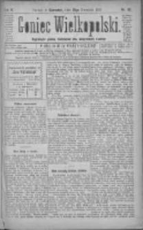 Goniec Wielkopolski: najtańsze pismo codzienne dla wszystkich stanów 1881.04.21 R.5 Nr90