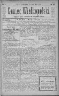 Goniec Wielkopolski: najtańsze pismo codzienne dla wszystkich stanów 1881.05.01 R.5 Nr99