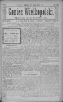 Goniec Wielkopolski: najtańsze pismo codzienne dla wszystkich stanów 1881.05.10 R.5 Nr106