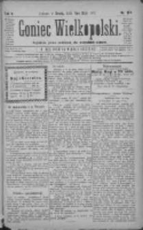 Goniec Wielkopolski: najtańsze pismo codzienne dla wszystkich stanów 1881.05.11 R.5 Nr107