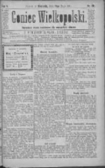 Goniec Wielkopolski: najtańsze pismo codzienne dla wszystkich stanów 1881.05.15 R.5 Nr111
