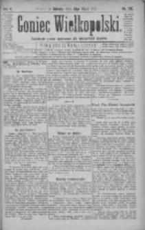 Goniec Wielkopolski: najtańsze pismo codzienne dla wszystkich stanów 1881.05.21 R.5 Nr116