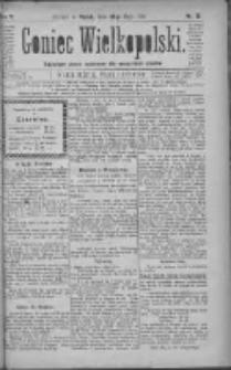 Goniec Wielkopolski: najtańsze pismo codzienne dla wszystkich stanów 1881.05.28 R.5 Nr121