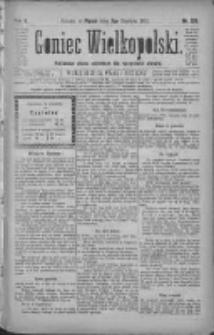 Goniec Wielkopolski: najtańsze pismo codzienne dla wszystkich stanów 1881.06.03 R.5 Nr126