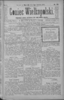 Goniec Wielkopolski: najtańsze pismo codzienne dla wszystkich stanów 1881.06.05 R.5 Nr128