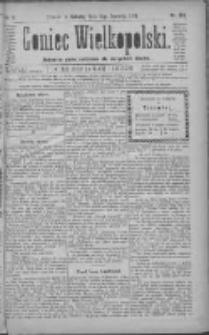 Goniec Wielkopolski: najtańsze pismo codzienne dla wszystkich stanów 1881.06.12 R.5 Nr132
