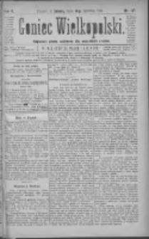 Goniec Wielkopolski: najtańsze pismo codzienne dla wszystkich stanów 1881.06.18 R.5 Nr137