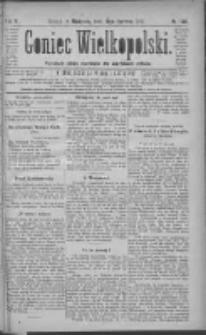Goniec Wielkopolski: najtańsze pismo codzienne dla wszystkich stanów 1881.06.19 R.5 Nr138